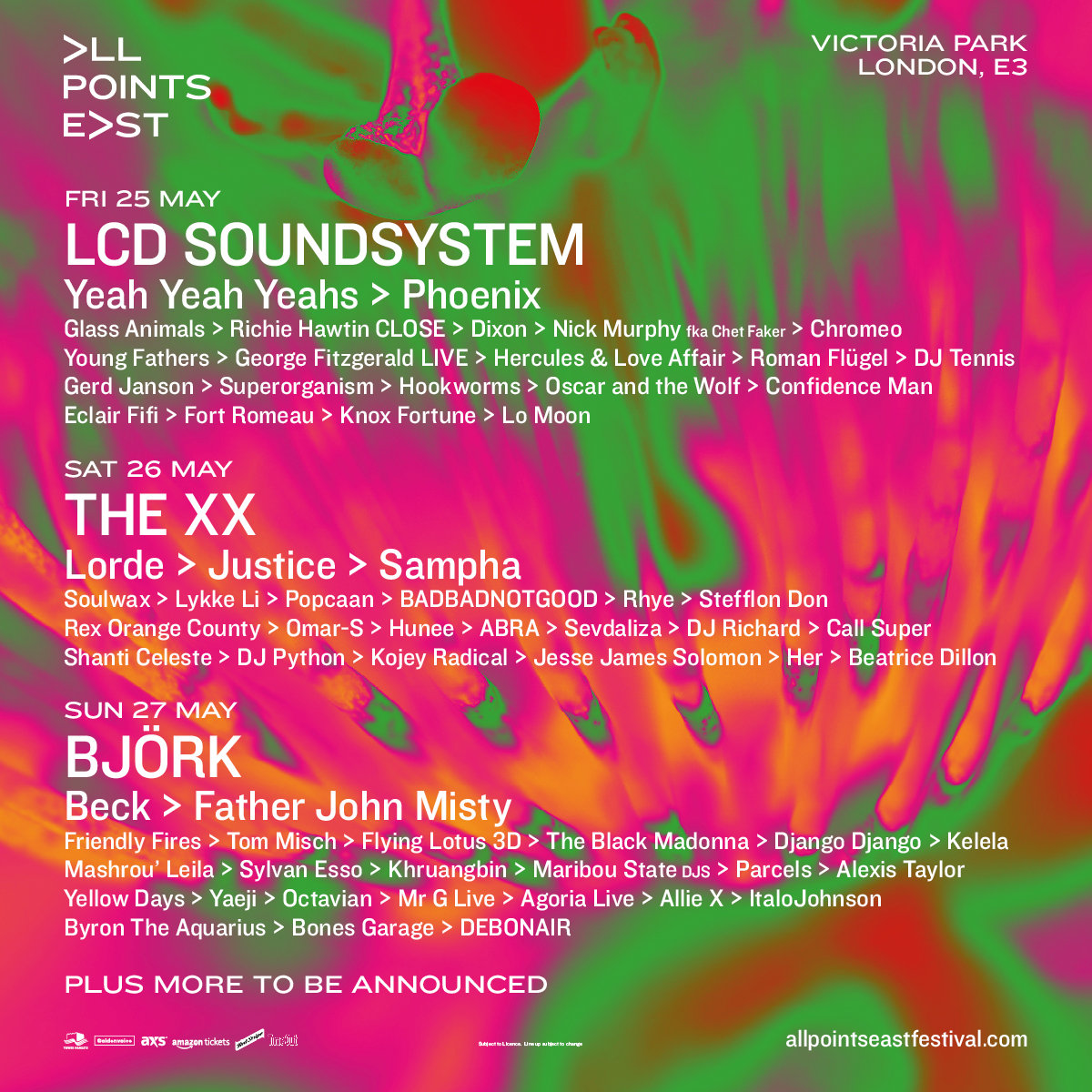 All Points East Line-up: 38 New Artists Added NextFest