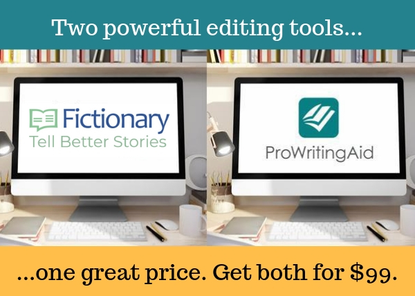 Fictionary and ProWritingAid, the essential editing bundle