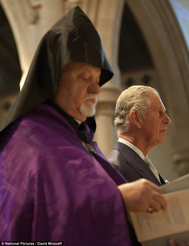 EDITORIAL: HRH Prince Charles Visits St. Yeghiche Church
