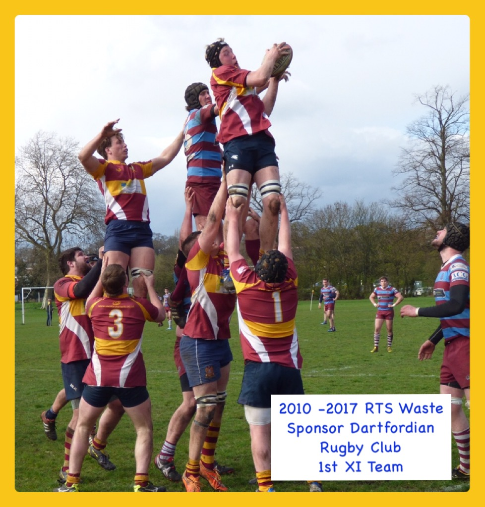 RTS Waste Management sponsor Local Kent Rugby Club