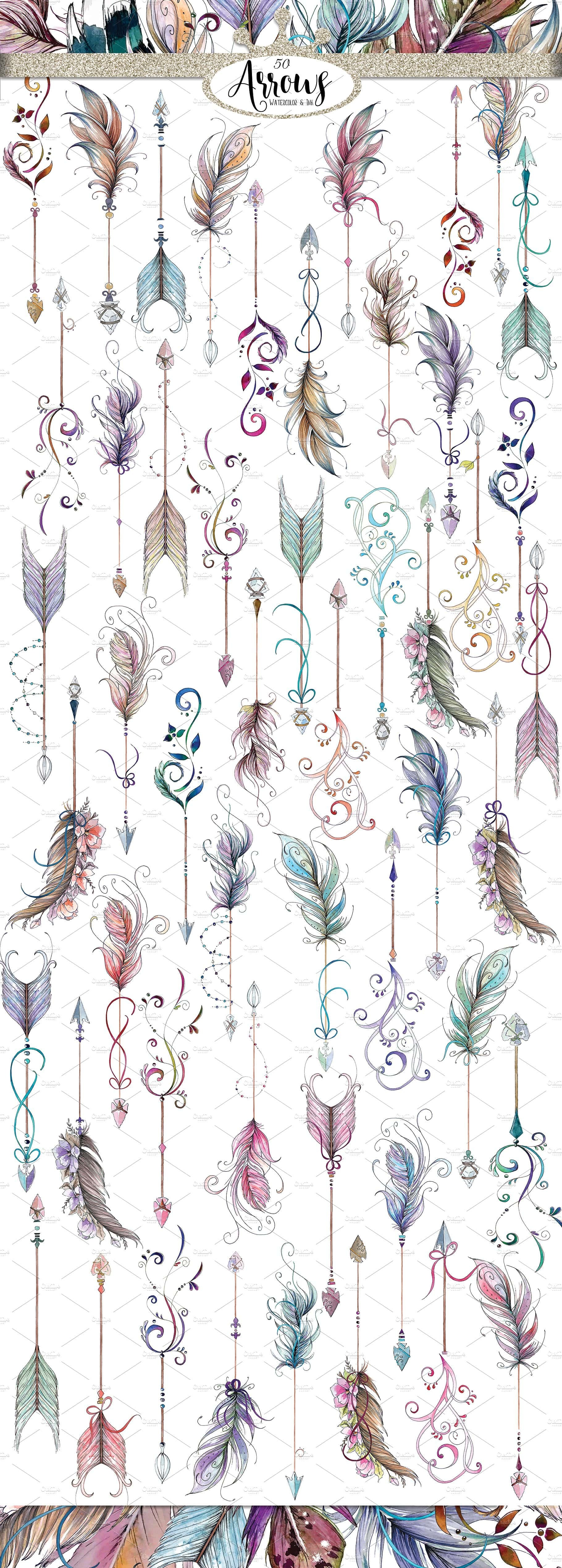 Watercolor & Illustration Bundle 2