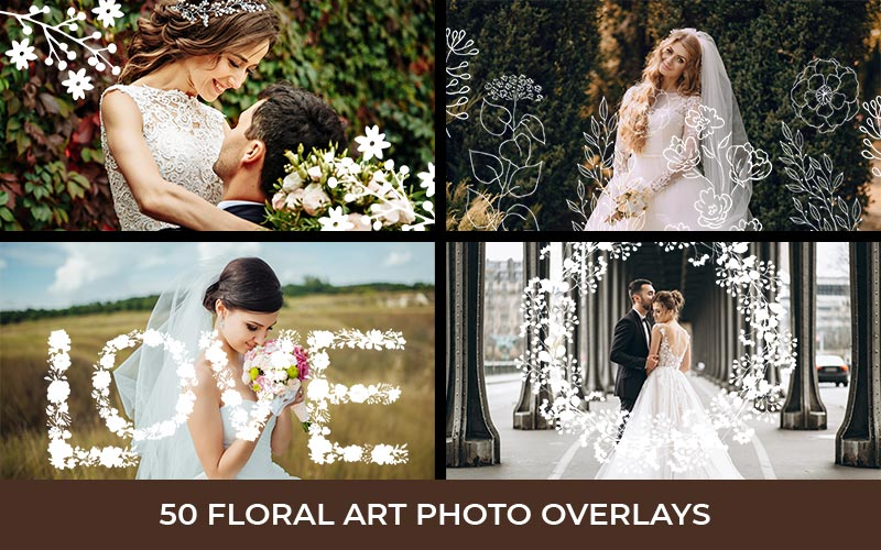 Wedding Overlays Preview 2