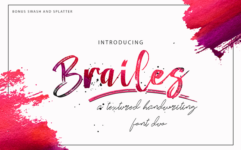205 Handwritten Fonts Preview 5
