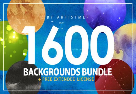 1600 Backgrounds Bundle