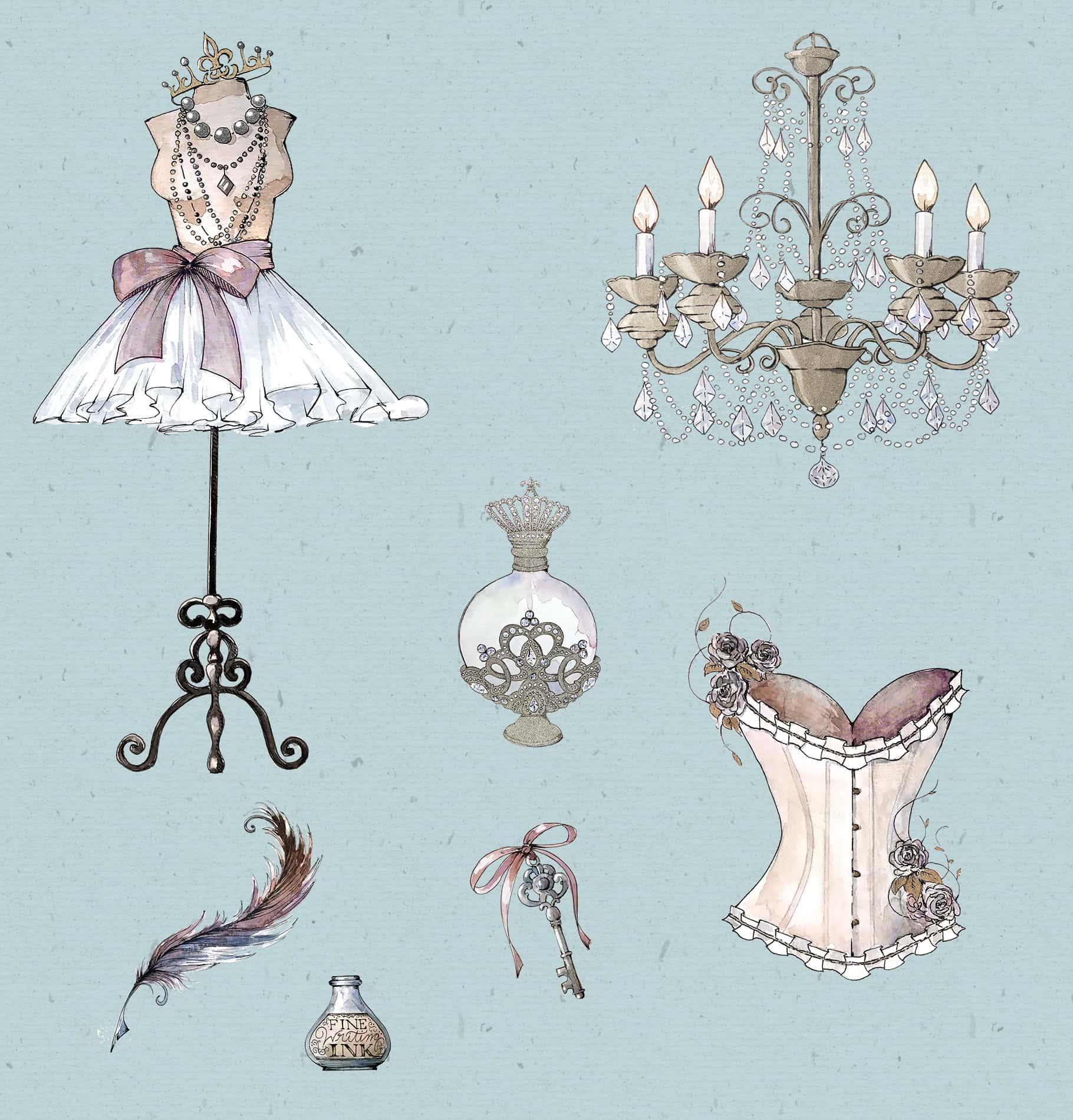 Watercolor & Illustrations Bundle 19