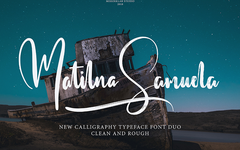 205 Handwritten Fonts Preview 11