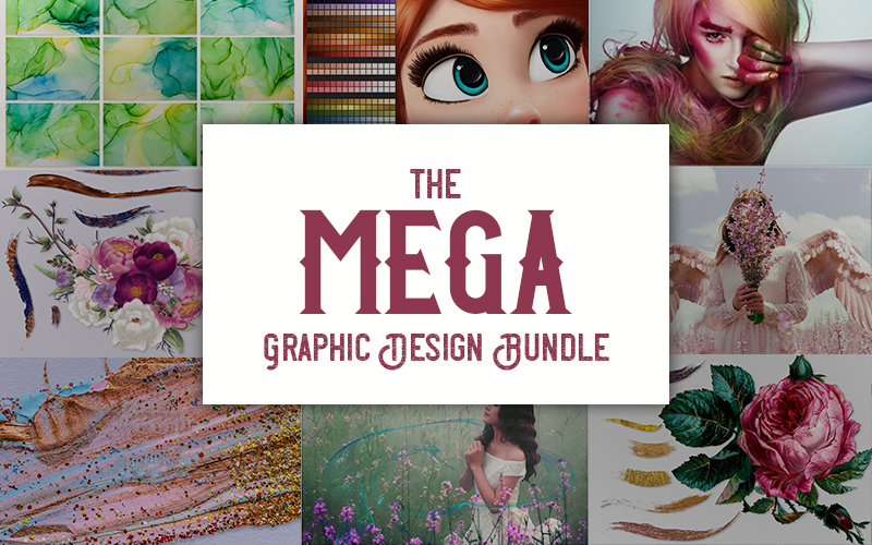 The Mega Graphic Design Bundle