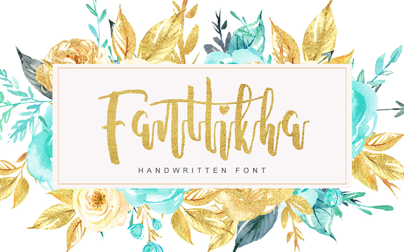 205 Handwritten Fonts Preview 12