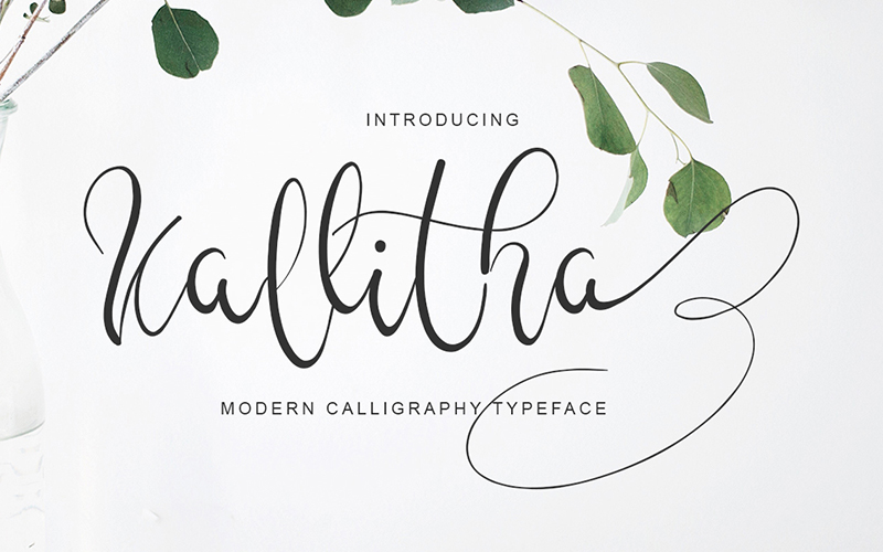 205 Handwritten Fonts Preview 4