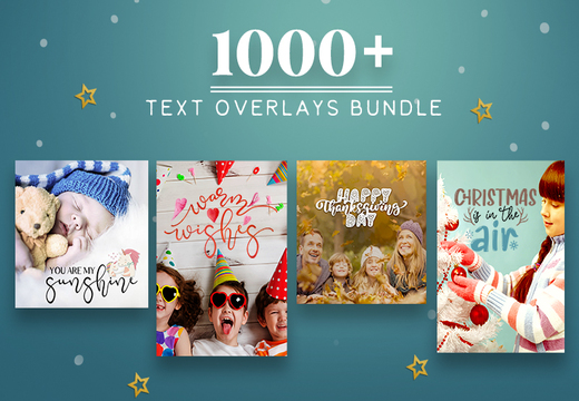 1000+ Text Overlays