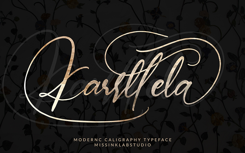 205 Handwritten Fonts Preview 9