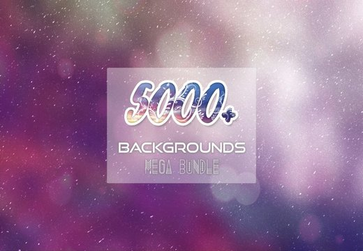 5000+ Backgrounds Bundle