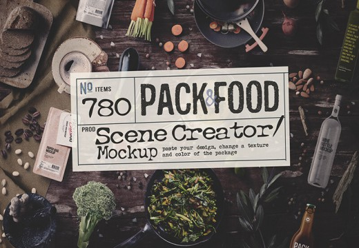 Food Scene Creator