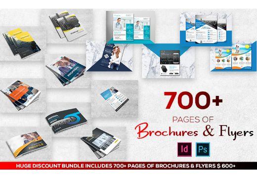50 Brochures & 50 Flyers