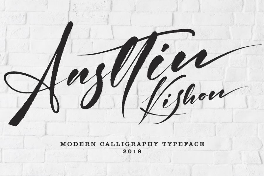 Handwritten font Preview 15