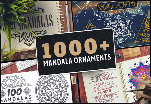 1000+ Mandala Ornaments
