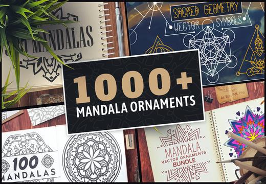 1000+ Mandala Ornamants