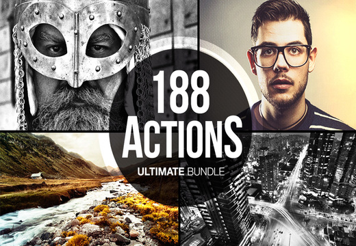 188 Photoshop Actions