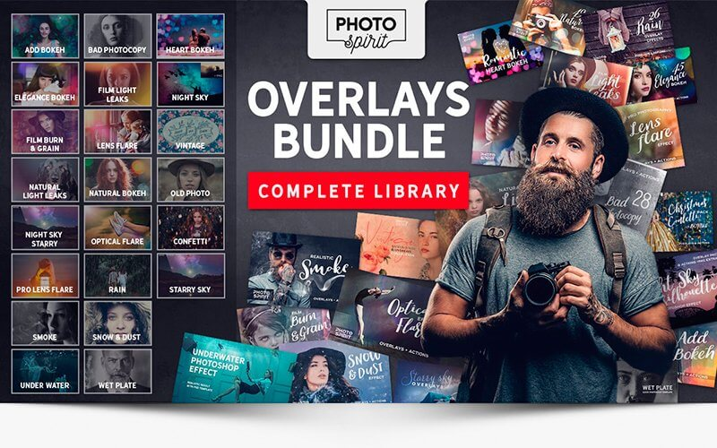 1000+ Overlays & Actions