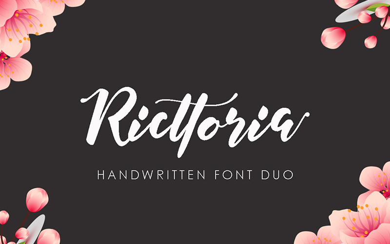 205 Handwritten Fonts Preview 1