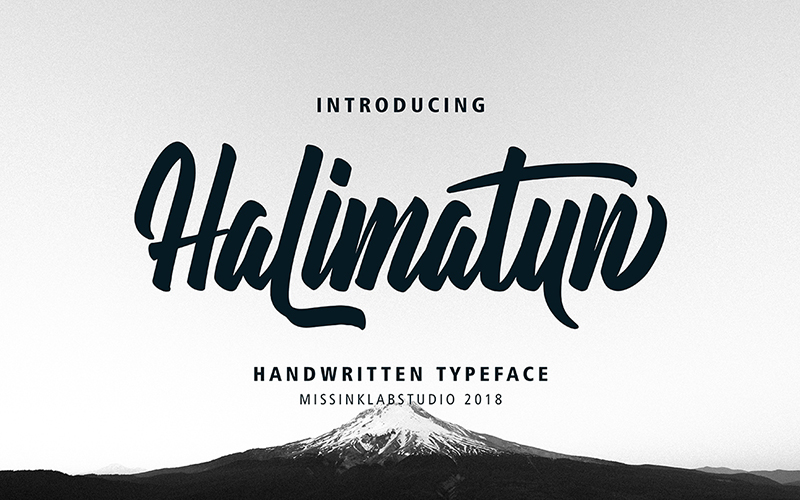 205 Handwritten Fonts Preview 8