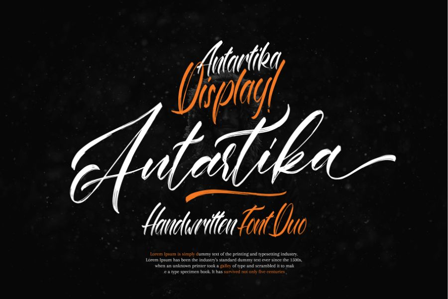 Handwritten font Preview 10