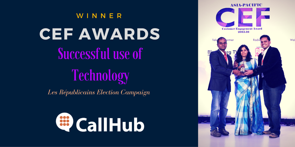 CallHub wins award for political campaign software