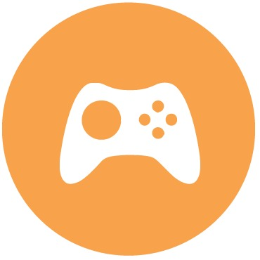 Game controller; come hear our gamification talk!
