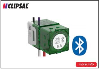 Clipsal Push Button Time Clock 6A