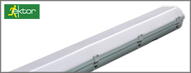 Ektor LED Emergency Batten IP65
