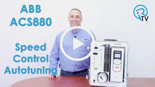 ABB ACS880 Speed Control Autotuning