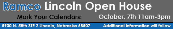 Ramco Lincoln Open House Save the Date Image