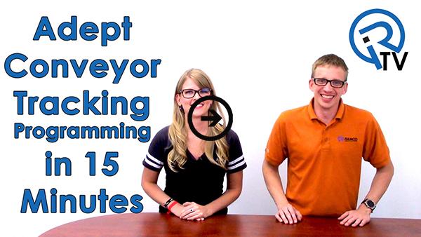 Adept Conveyor Tracking Programmining in 15 Minutes