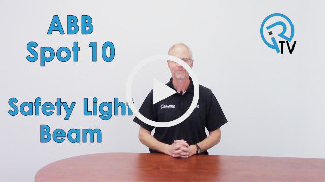 ABB Spot 10 Safety Light Beam Video