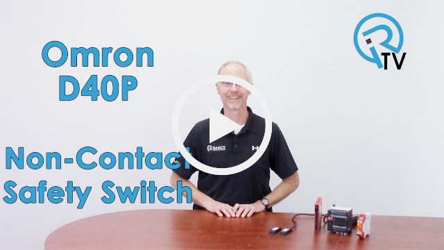 Omron D40P Non-contact Safety Switch