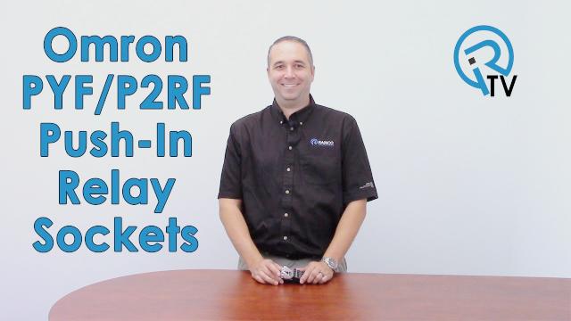 Omron PYF/P2RF Push-In Relay Sockets
