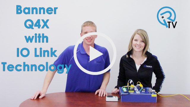 Banner Q4X with IO Link Technology Video