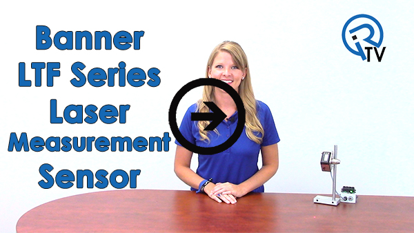 Banner LTF Laser Measurement Sensor Video