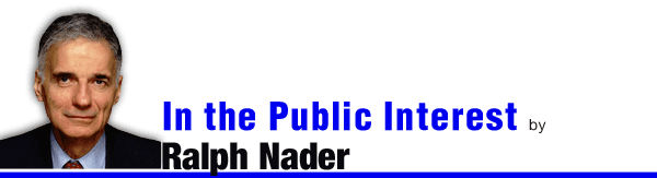 In the Public Interest by Ralph Nader