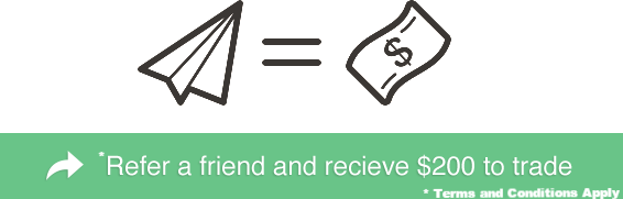 Refer a friend and recieve $200 to trade