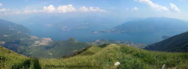 Ausblick vom Monte Galbiga (c) by Rosa Lachenmeier
