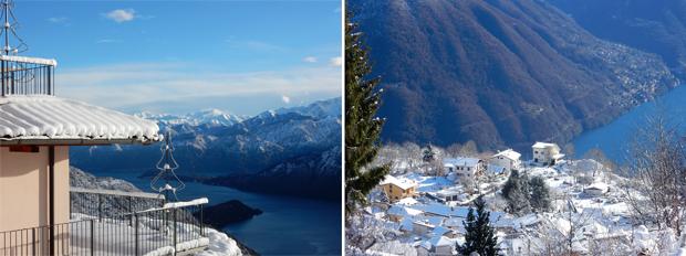 Winterimpressionen aus Pigra