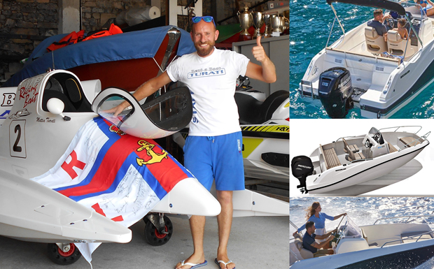 Mr. Turati und seine Boote - Quicksilver Active 555 Open