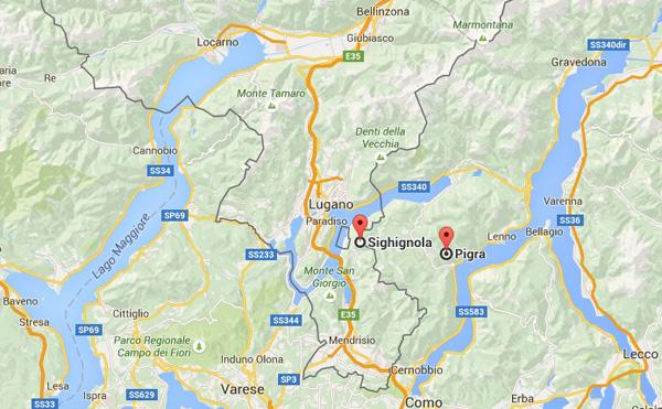 Eine Orientierungshilfe von Google-Maps