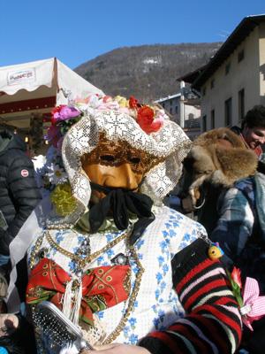 Detailbild aus dem Karnevalsumzug