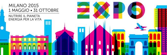 Logo und Link zu der offiziellen Webseite der EXPO 2015 Milano