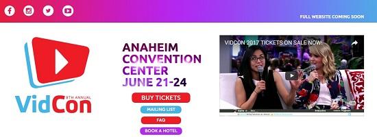 VidCon – ежегодный молодежный фестиваль, созданный Vlogbrothers