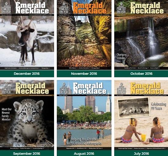 Выпуски журнала question Emerald Necklace Newsletter