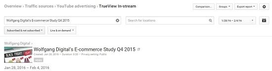 Источники трафика – реклама на YouTube