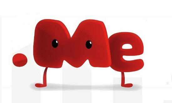 С доменом типа .me можно создать множество интересных вариаций – love.me, hate.me, follow.me и т.д.